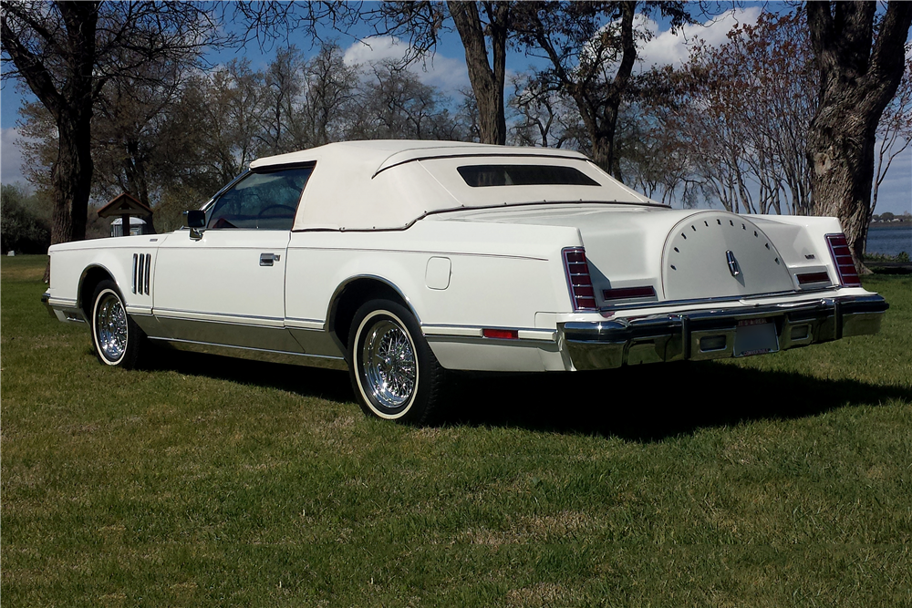 1978 Lincoln Continental Mark V Custom Convertible 188778