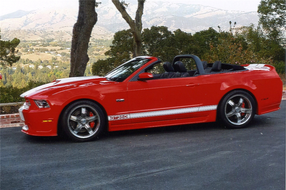 2012 FORD SHELBY GT350 CONVERTIBLE - Side Profile - 188779