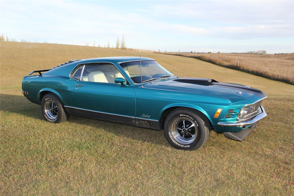 2018 Mustang Mach 1 >> 1970 FORD MUSTANG MACH 1 FASTBACK - 188789