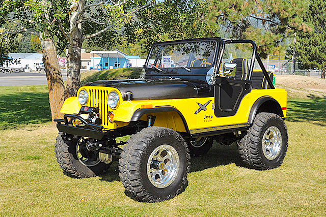 Jeep Cj Custom Suv