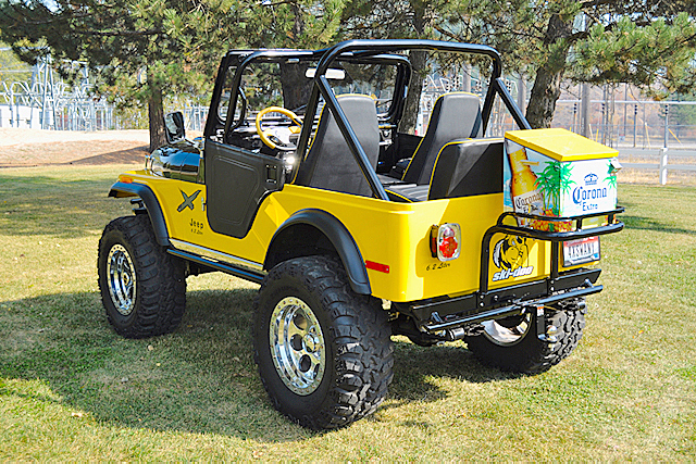 1980 JEEP CJ-5 CUSTOM SUV - Rear 3/4 - 188791