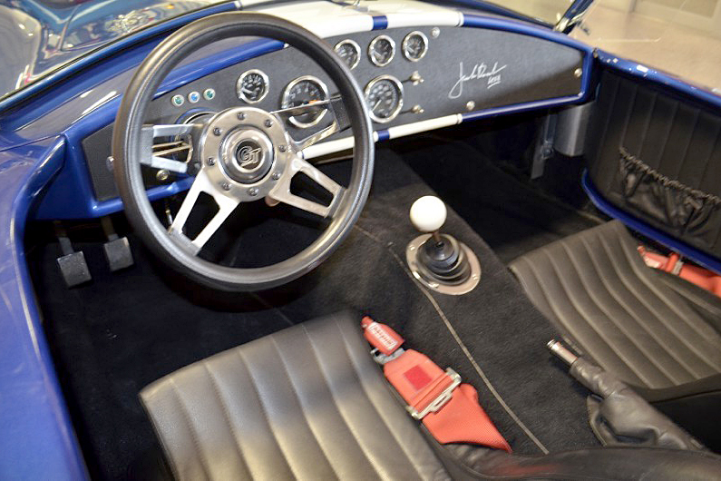 1966 SHELBY COBRA RE-CREATION ROADSTER - Interior - 188797