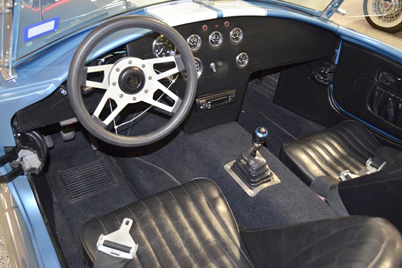 1966 SHELBY COBRA RE-CREATION ROADSTER - Interior - 188798