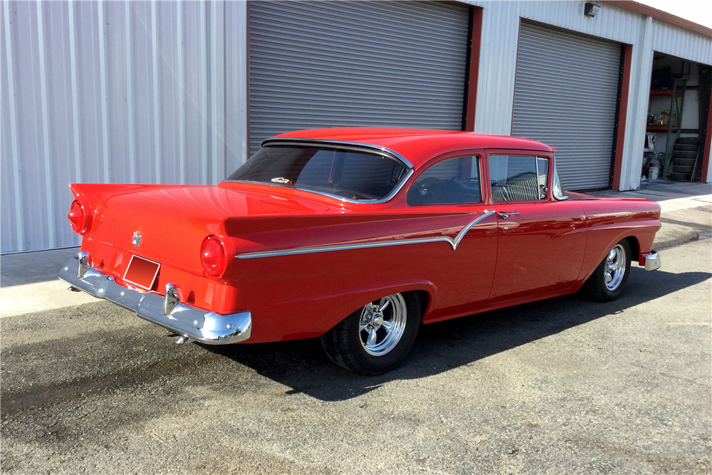 1957 ford custom 300 2 door post 188814