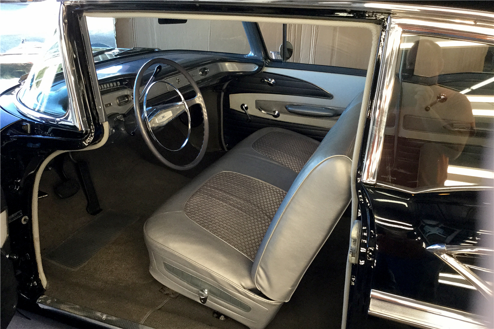 1958 CHEVROLET BEL AIR 2-DOOR POST - Interior - 188816