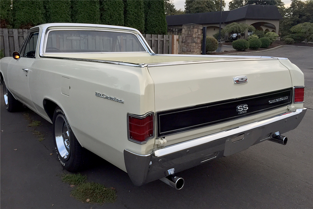 1967 CHEVROLET EL CAMINO SS PICKUP - Rear 3/4 - 188832