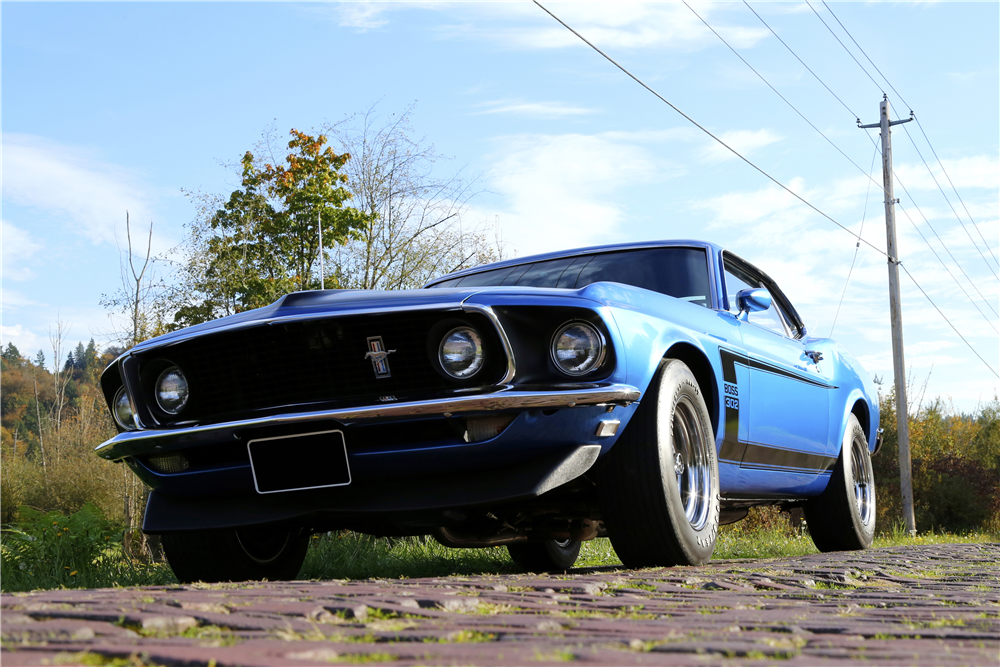 1969 FORD MUSTANG BOSS 302 FASTBACK - Front 3/4 - 188833
