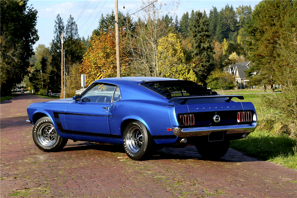 1969 FORD MUSTANG BOSS 302 FASTBACK - Rear 3/4 - 188833