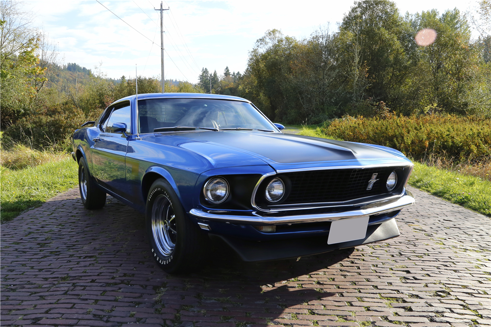 1969 FORD MUSTANG BOSS 302 FASTBACK - Side Profile - 188833
