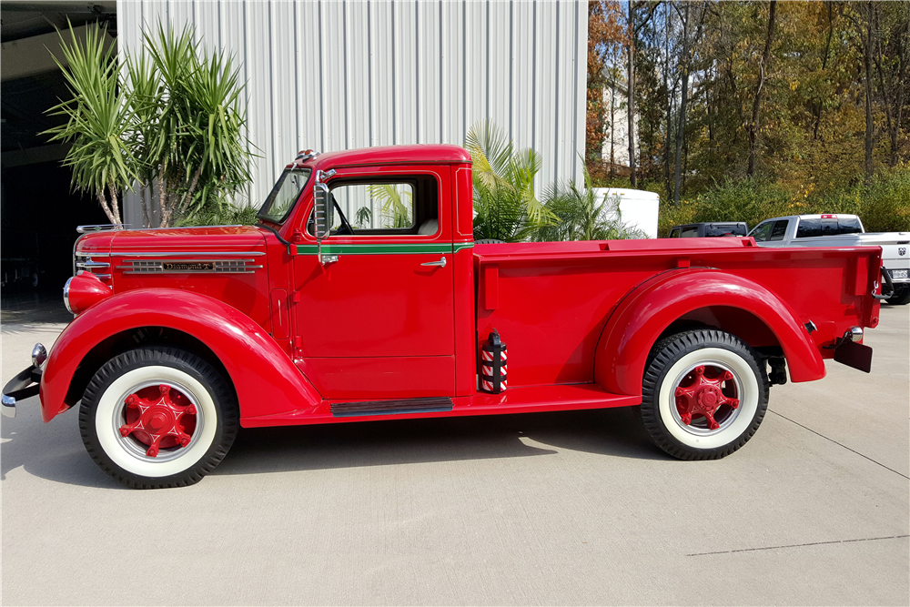 1948 DIAMOND T 201 PICKUP - Side Profile - 188846
