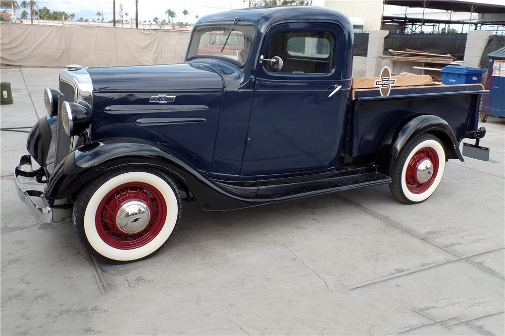 1936 CHEVROLET PICKUP - Front 3/4 - 188853
