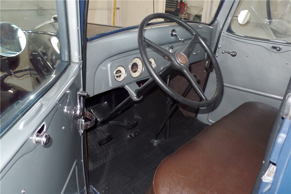 1936 CHEVROLET PICKUP - Interior - 188853