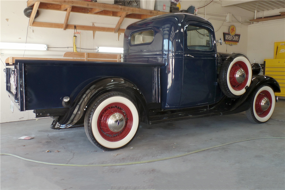 1936 CHEVROLET PICKUP - Rear 3/4 - 188853