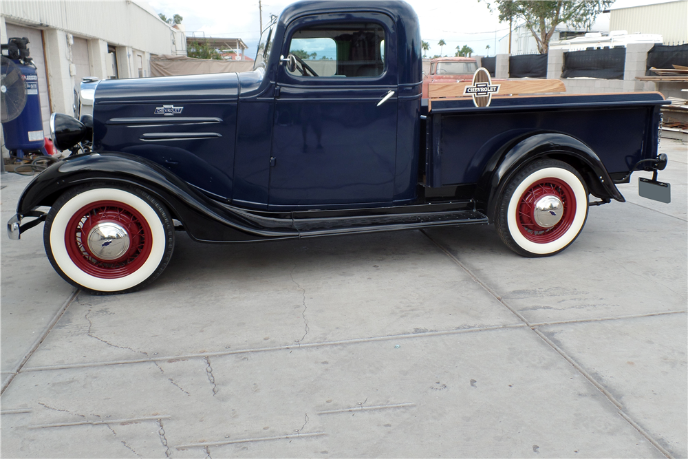 1936 CHEVROLET PICKUP - Side Profile - 188853