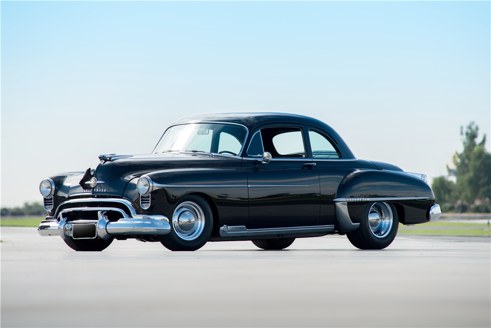 1950 OLDSMOBILE 88 FUTURAMIC CUSTOM COUPE - Front 3/4 - 188858
