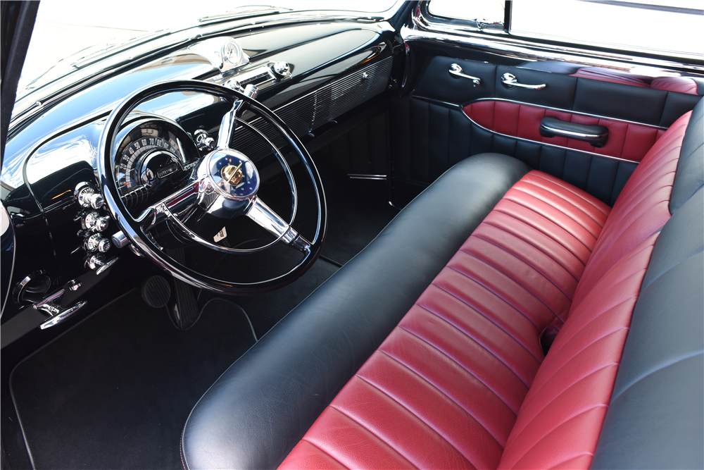 1950 OLDSMOBILE 88 FUTURAMIC CUSTOM COUPE - Interior - 188858