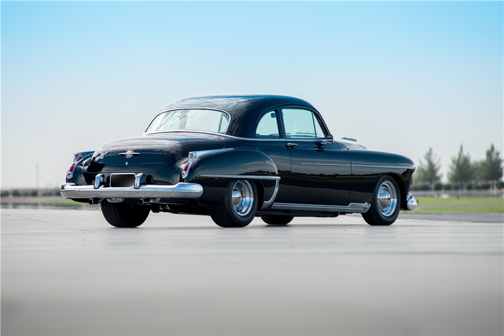 1950 OLDSMOBILE 88 FUTURAMIC CUSTOM COUPE - Rear 3/4 - 188858