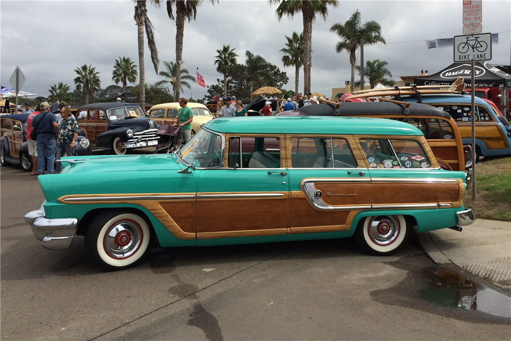 1955 mercury monterey woody wagon 188861 for 1955 mercury monterey 4 door