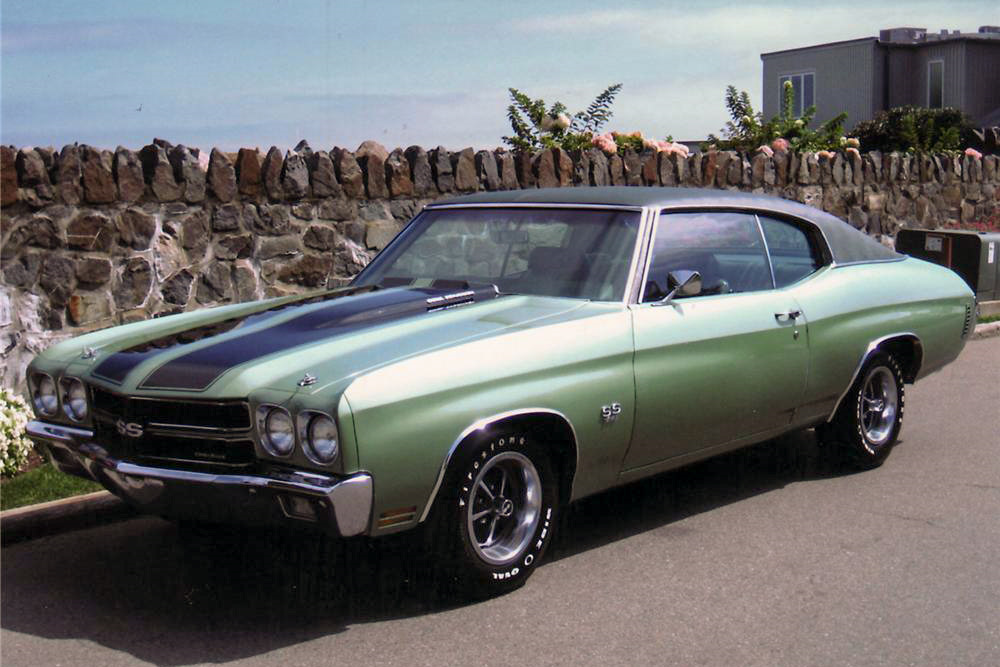 1970 CHEVROLET CHEVELLE SS 396 - Front 3/4 - 188866