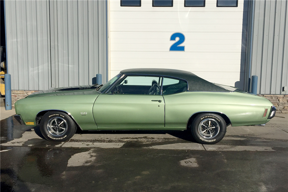 1970 CHEVROLET CHEVELLE SS 396 - Side Profile - 188866