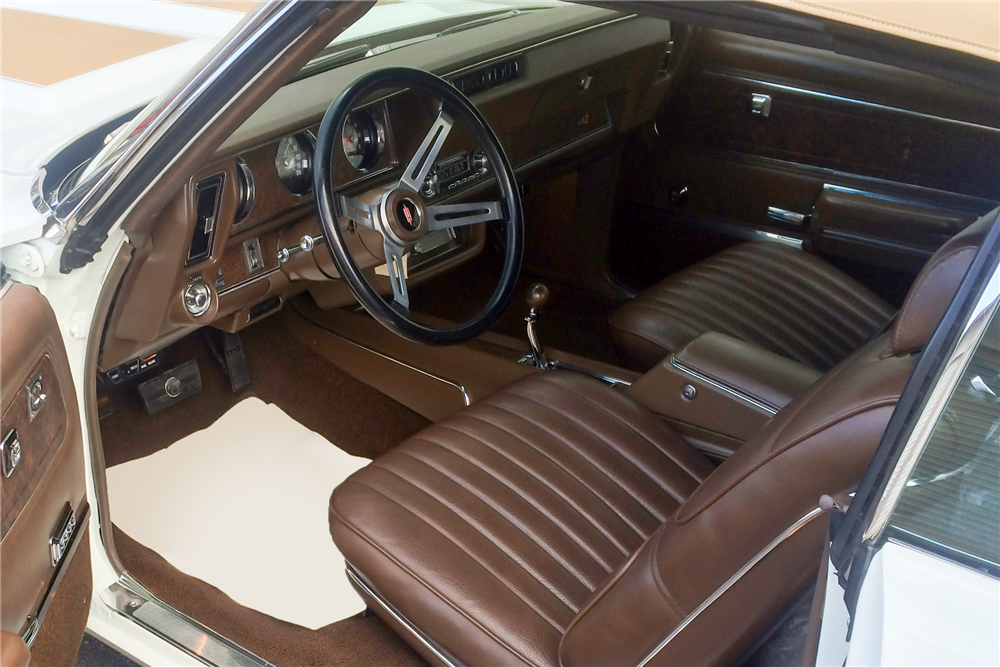 1970 OLDSMOBILE 442 CONVERTIBLE - Interior - 188869