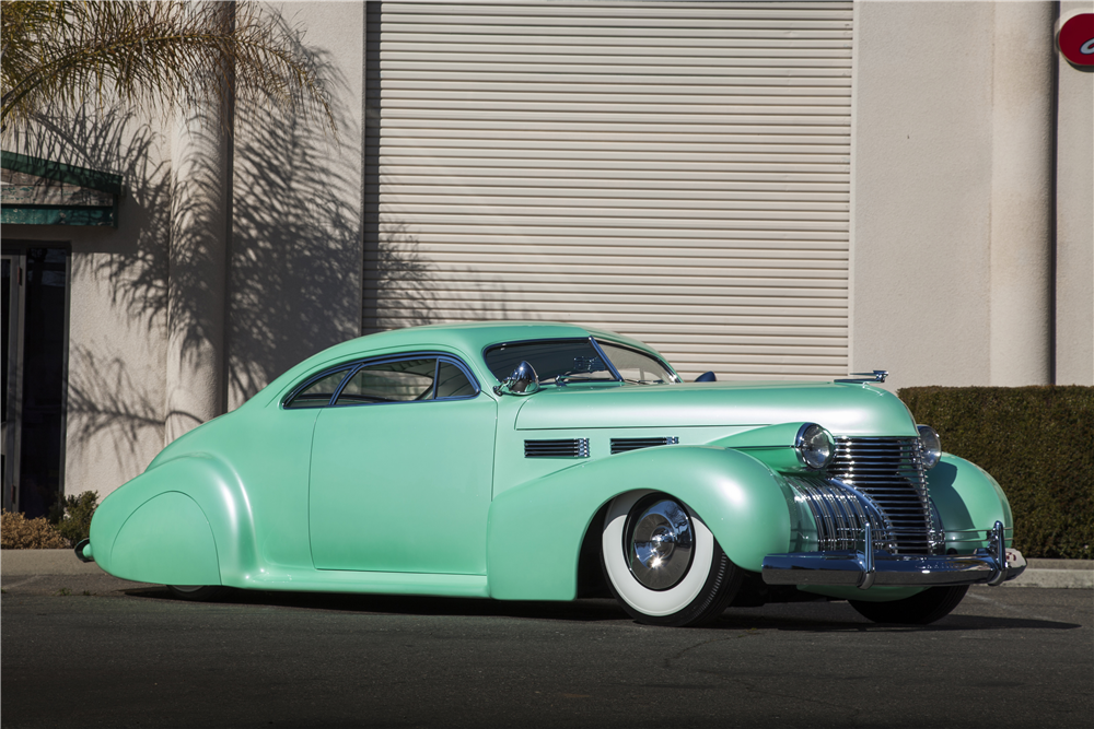 "1940 CADILLAC SERIES 62 CUSTOM COUPE ""SOPHIA"" - Front 3/4 - 188874"