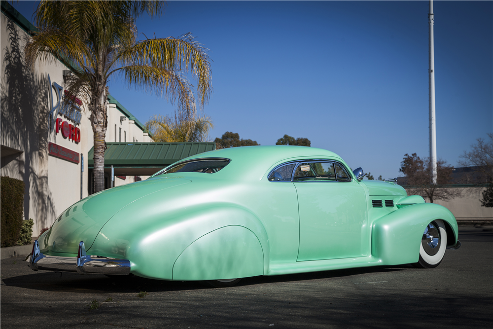 "1940 CADILLAC SERIES 62 CUSTOM COUPE ""SOPHIA"" - Rear 3/4 - 188874"