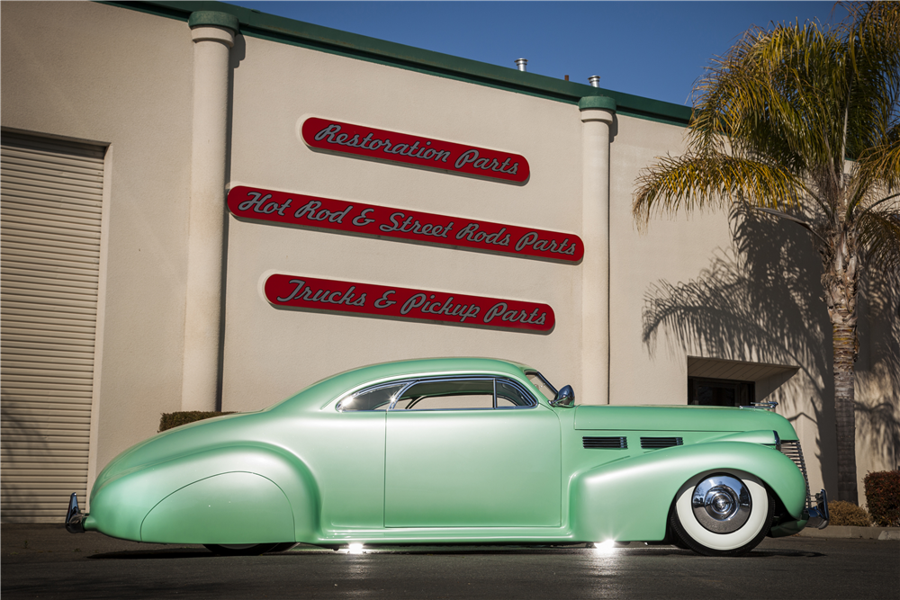 "1940 CADILLAC SERIES 62 CUSTOM COUPE ""SOPHIA"" - Side Profile - 188874"