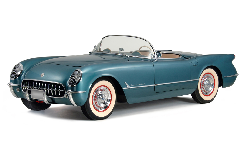 1954 CHEVROLET CORVETTE CONVERTIBLE - Front 3/4 - 188880