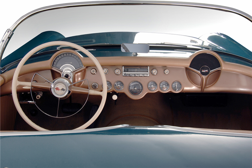 1954 CHEVROLET CORVETTE CONVERTIBLE - Interior - 188880