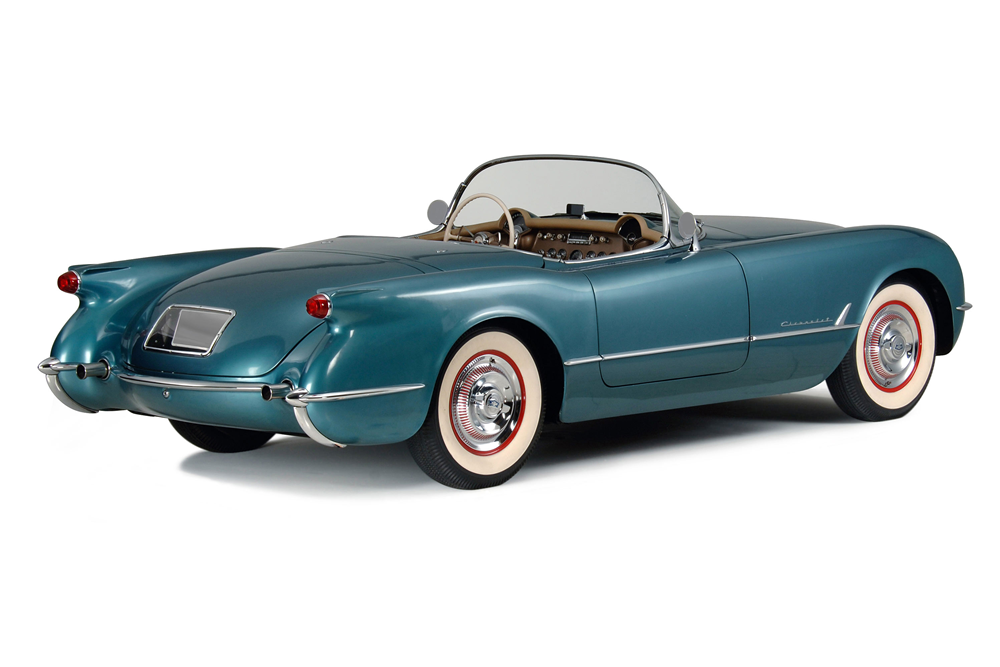 1954 CHEVROLET CORVETTE CONVERTIBLE - Rear 3/4 - 188880
