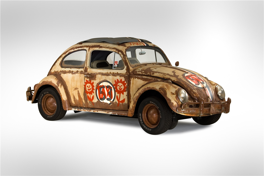 "1960 VOLKSWAGEN BEETLE ""SPINNING HERBIE"" - Side Profile - 188881"