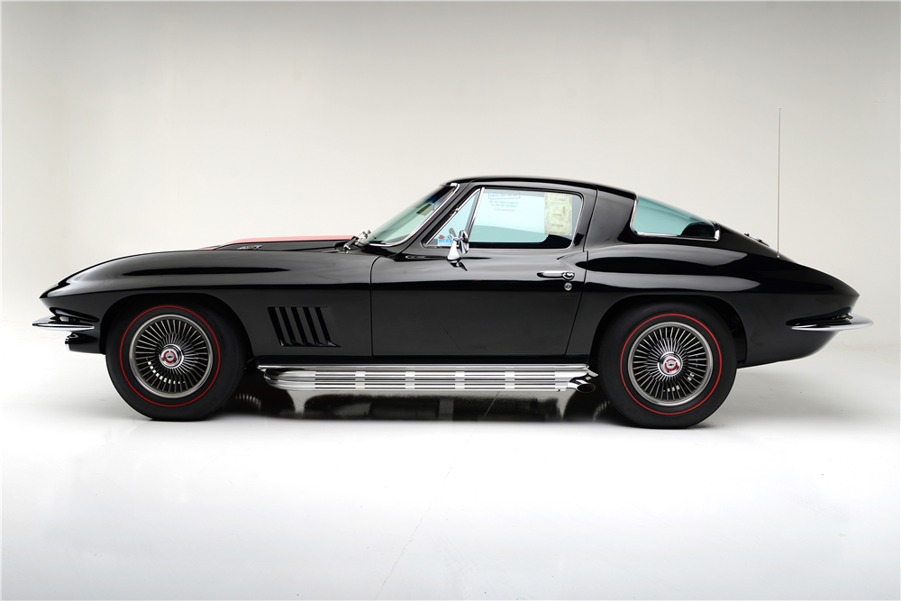 1967 CHEVROLET CORVETTE  - Side Profile - 188884