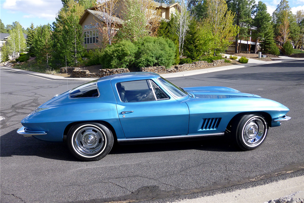 1967 CHEVROLET CORVETTE L79 - Side Profile - 188885