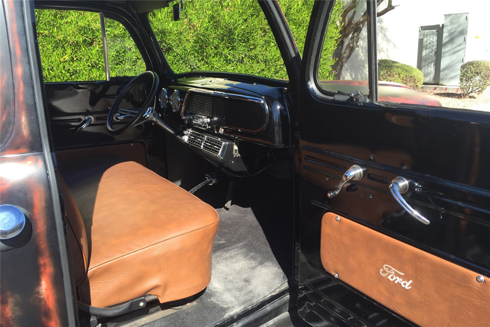 1951 FORD F-1 CUSTOM PICKUP - Interior - 188927