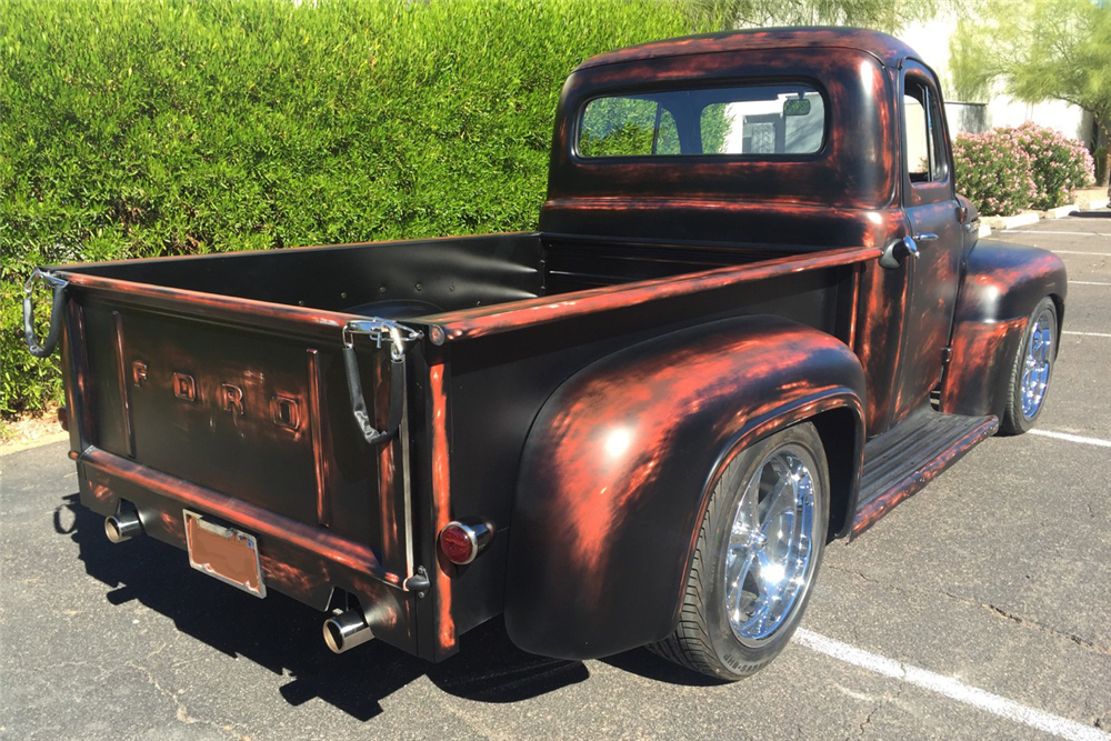 1951 FORD F-1 CUSTOM PICKUP - Rear 3/4 - 188927