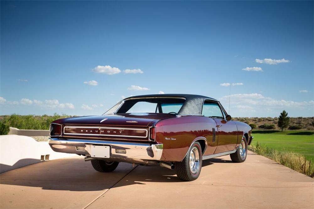 1967 PONTIAC BEAUMONT  - Rear 3/4 - 188928