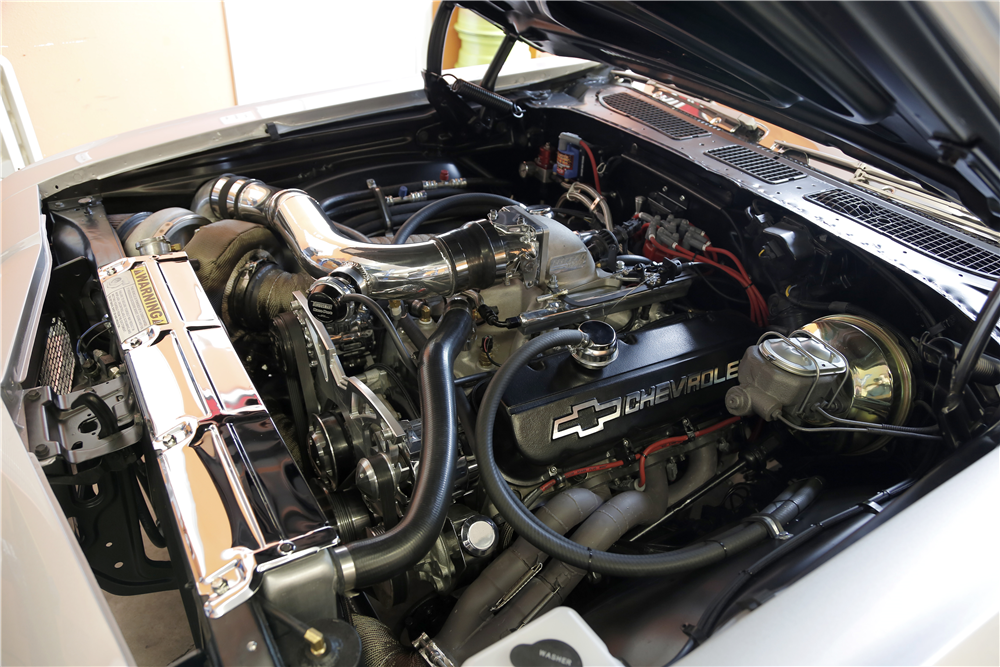 1968 CHEVROLET CHEVELLE CUSTOM COUPE - Engine - 188932