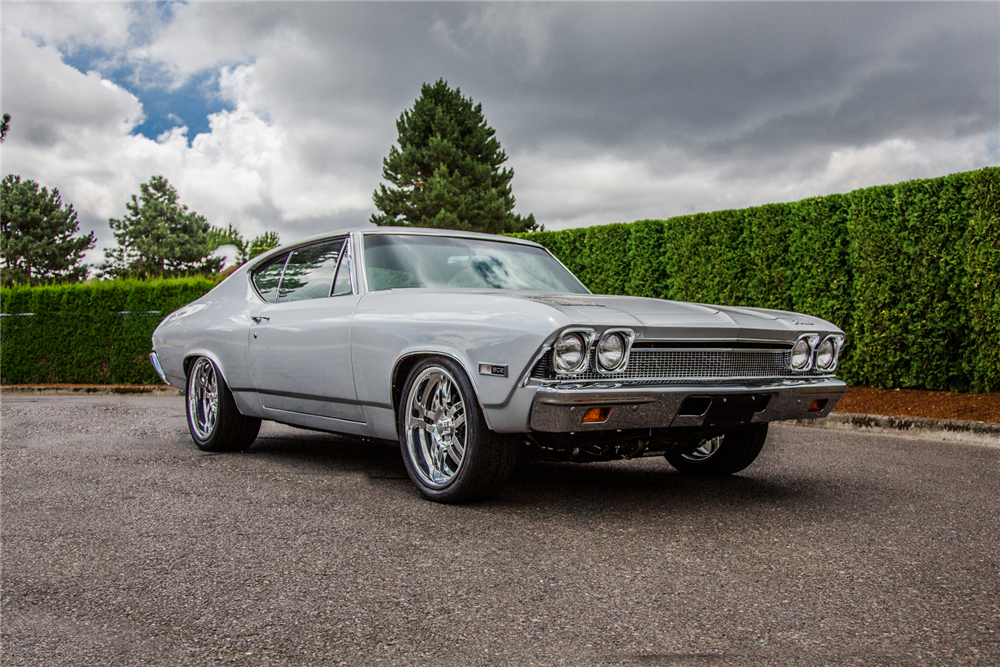 1968 CHEVROLET CHEVELLE CUSTOM COUPE - Front 3/4 - 188932