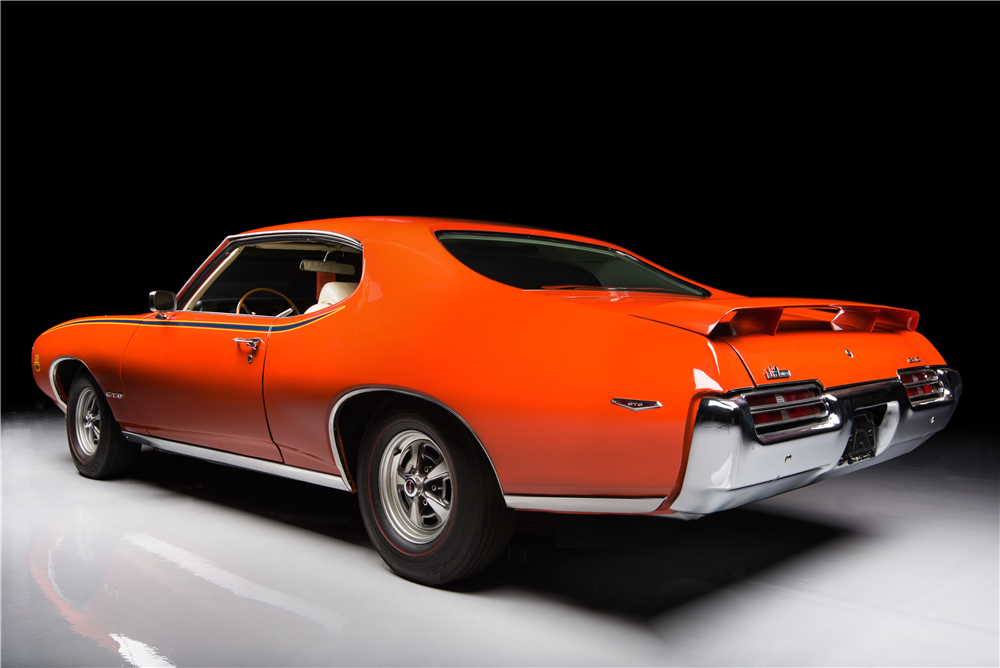 1969 PONTIAC GTO JUDGE - 188945