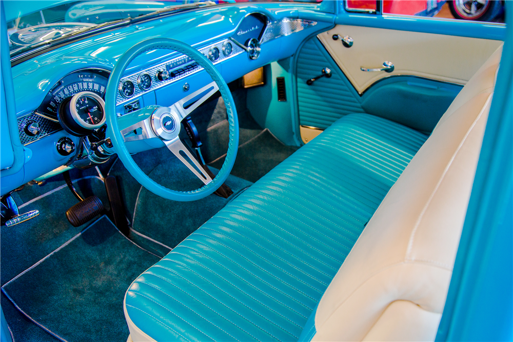 1955 CHEVROLET 210 CUSTOM POST COUPE - Interior - 188946