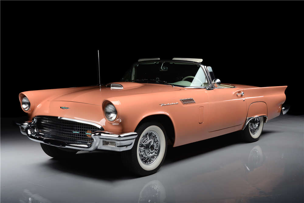 1957 FORD THUNDERBIRD CONVERTIBLE - Front 3/4 - 188950