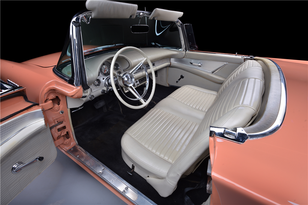 1957 FORD THUNDERBIRD CONVERTIBLE - Interior - 188950