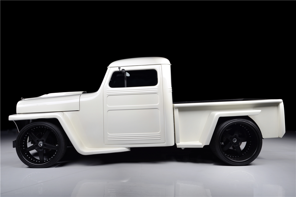 1952 WILLYS CUSTOM PICKUP - Side Profile - 188956