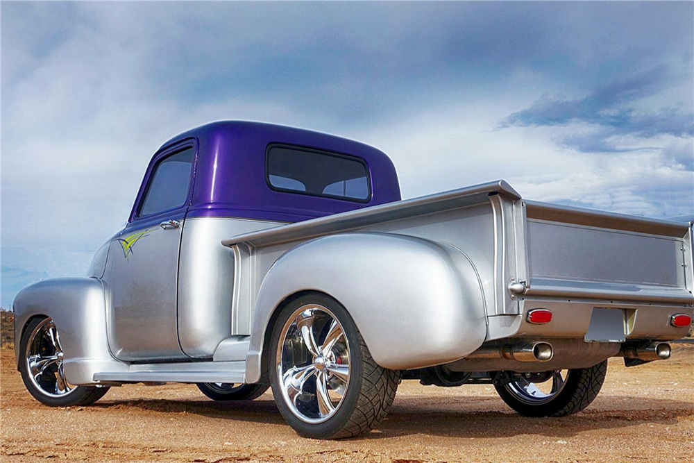1953 CHEVROLET 3100 CUSTOM PICKUP - Rear 3/4 - 188963