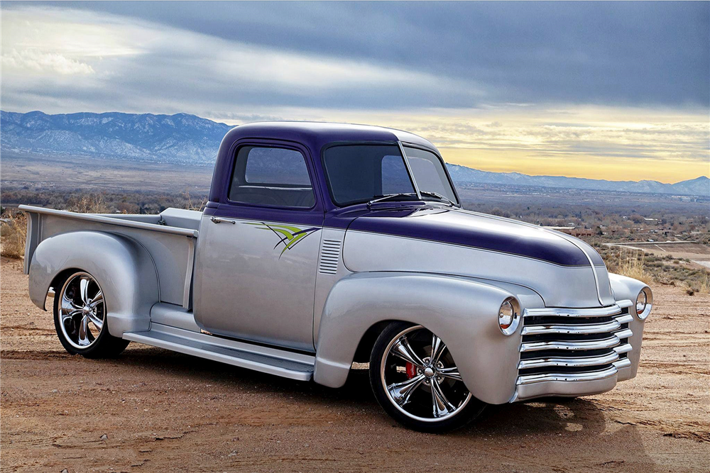 1953 CHEVROLET 3100 CUSTOM PICKUP - Side Profile - 188963