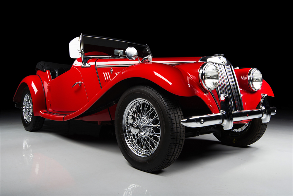 1954 MG TF CONVERTIBLE - Front 3/4 - 188965