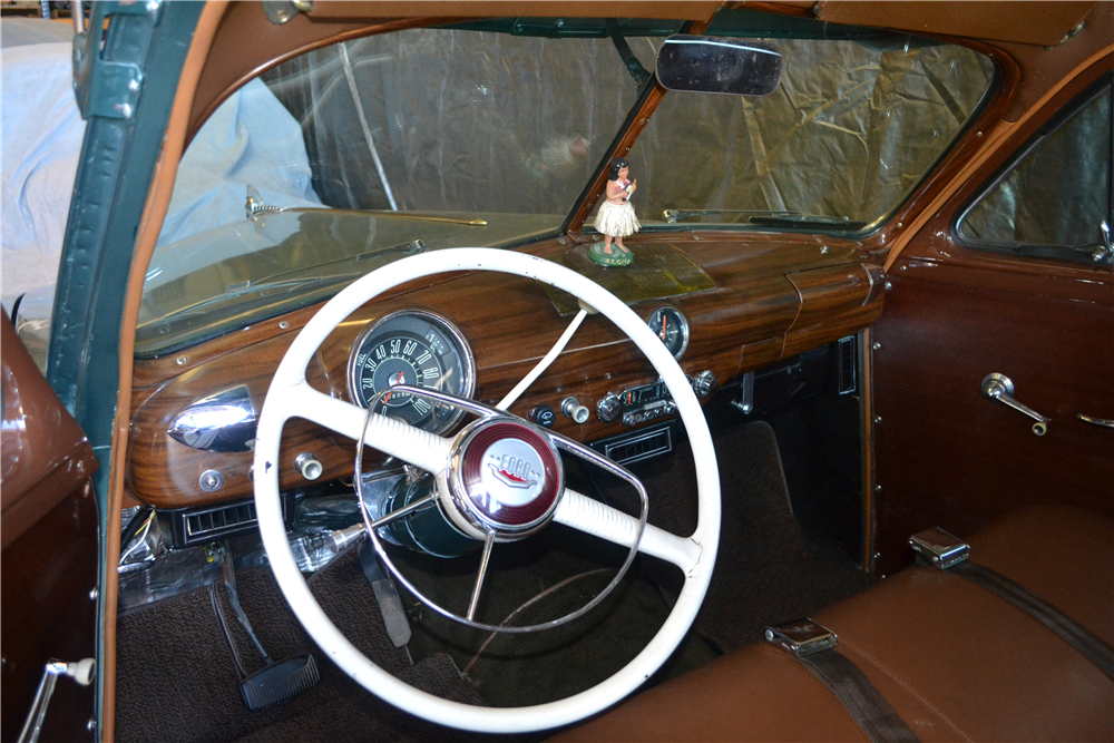 1950 FORD CUSTOM WOODY WAGON - Interior - 188967