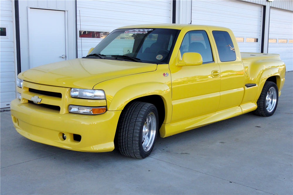 1999 CHEVROLET 1500 CUSTOM PICKUP - Front 3/4 - 188980