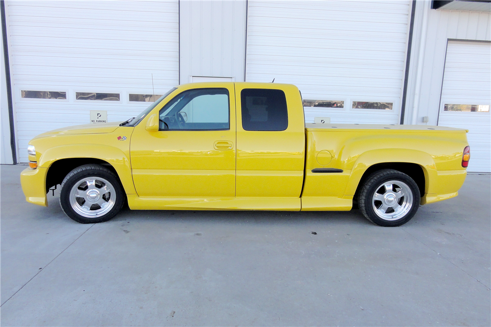 1999 CHEVROLET 1500 CUSTOM PICKUP - Side Profile - 188980